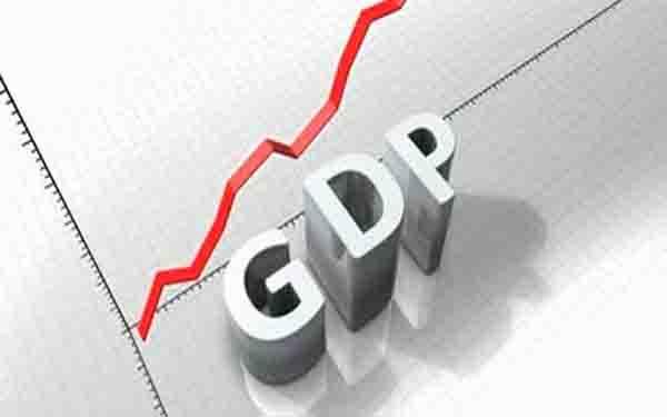 तीन साल के निचले स्तर पर जीडीपी की वृद्धि दर 5.7 प्रतिशत हुई