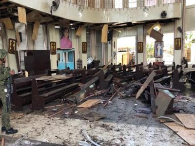 फिलिपींसः कैथलिक गिरजाघर में हुआ बम विस्फोट, 18 लोगों की मौत