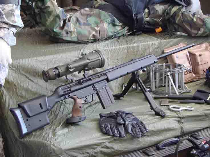 देश के टॉप शूटर ने स्नाइपर राइफल, लाइट मशीन गन में दिखाए हुनर
