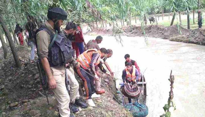 जम्मू कश्मीर में फटा बादल, एक ही परिवार के 4 लोगों की मौत
