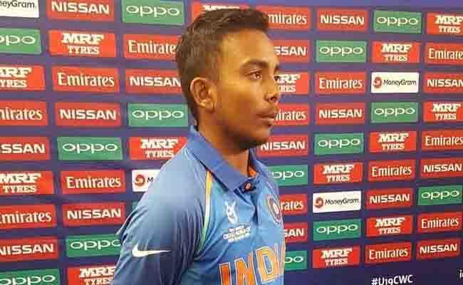 U19 वर्ल्डकप में भारतीय टीम के कप्तान पृथ्वी शॉ ने इस कंपनी के साथ किया 5 साल का करार...