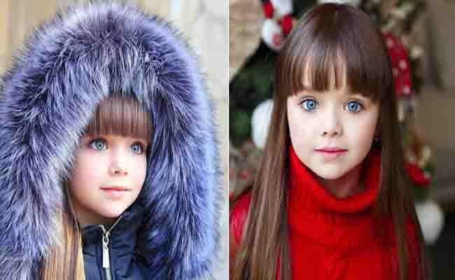 नीली आंखें और खूबसूरत बाल, मिलिए 'दुनिया की सबसे खूबसूरत लड़की' से