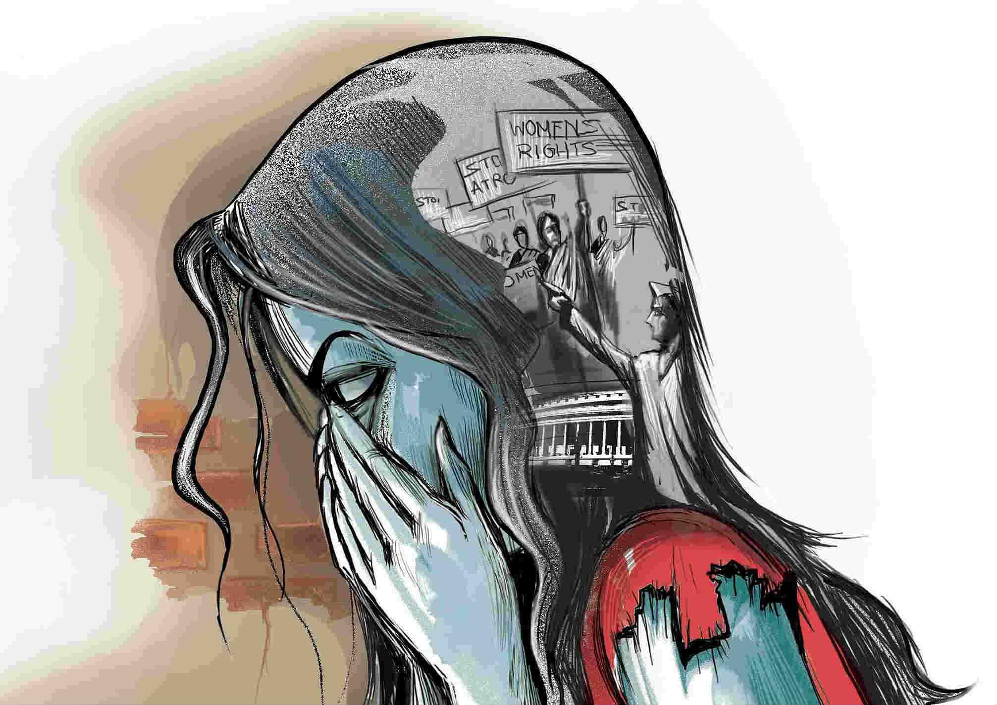 गुजरात में लगातार बढ़ता जा रहा है महिलाओं पर अत्याचार