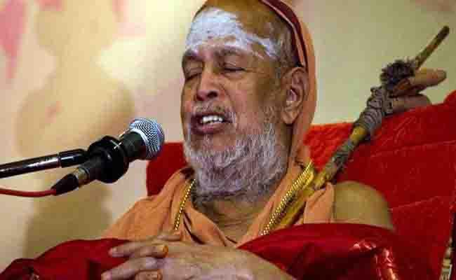 कांची मठ के प्रमुख बनें विजयेंद्र सरस्वती