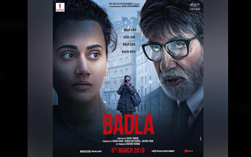 Box Office: बड़ी फिल्मों से टक्कर लेने की तैयारी में है अमिताभ बच्चन और तापसी की 'बदला', कमाई में हुआ उछाल