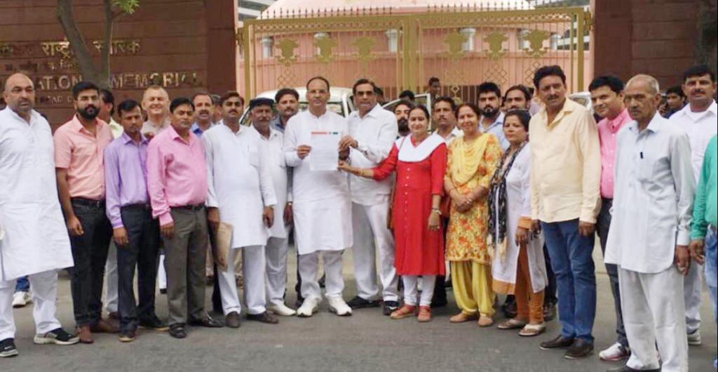 भाजपा दिल्ली प्रदेश किसान मोर्चा ने की सीएम केजरीवाल से मांग, कहा किसानों को वापस मिले किसान का दर्जा