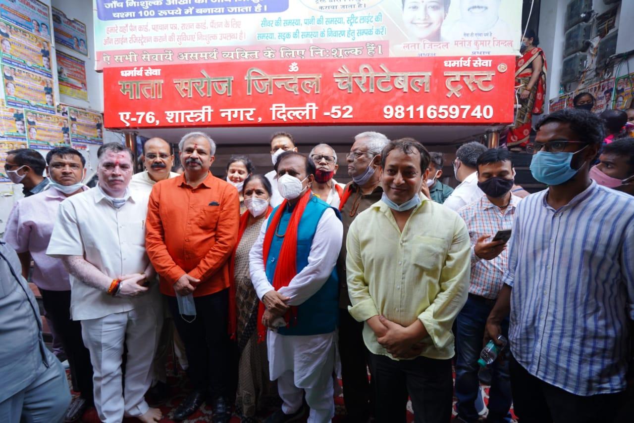 प्रधानमंत्री की सोच 'कोई भूखा ना सोए' को भाजपा ने साकार किया है-आदेश गुप्ता