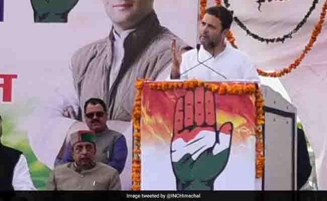 राहुल गांधी ने कहा 2019 के लोकसभा चुनाव में कांग्रेस के हाथ आई सत्ता तो GST में ला सकत बड़े बदलावा