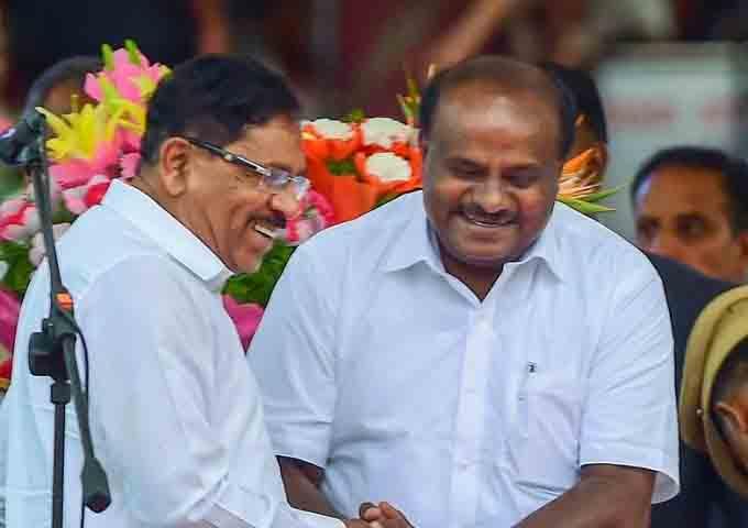 कर्नाटक में दो विभागों पर बनी सहमति, कांग्रेस के पाले में गृह तो जेडीएस को मिला वित्त मंत्रालय