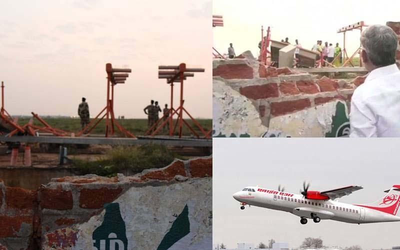 एयर इंडिया एक्सप्रेस का विमान दीवार को छूकर निकला, सभी यात्री सुरक्षित