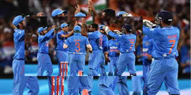 टीम इंडिया ने न्यूजीलैंड को हराकर टी-20 में जीत दर्ज की