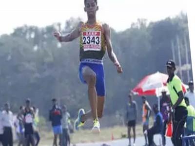 श्रीशंकर ने लंबी कूद में राष्ट्रीय रिकार्ड के साथ स्वर्ण जीता