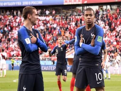 एमबापे के गोल से फ्रांस हुआ विजय...