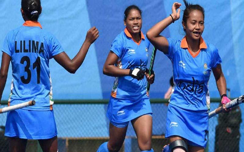 भारतीय महिला हॉकी टीम युवा ओलंपिक के क्वार्टर फाइनल में