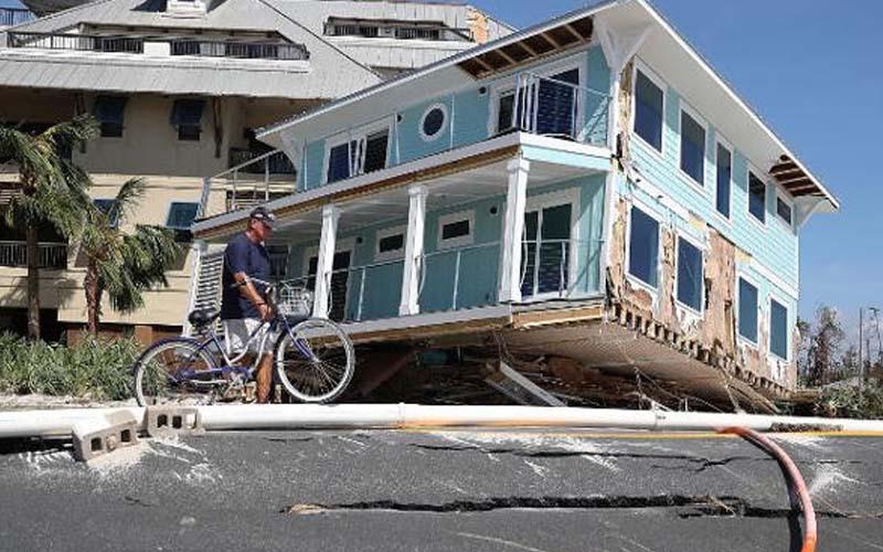 तूफान माइकल से कम से कम पांच लोगों की मौत