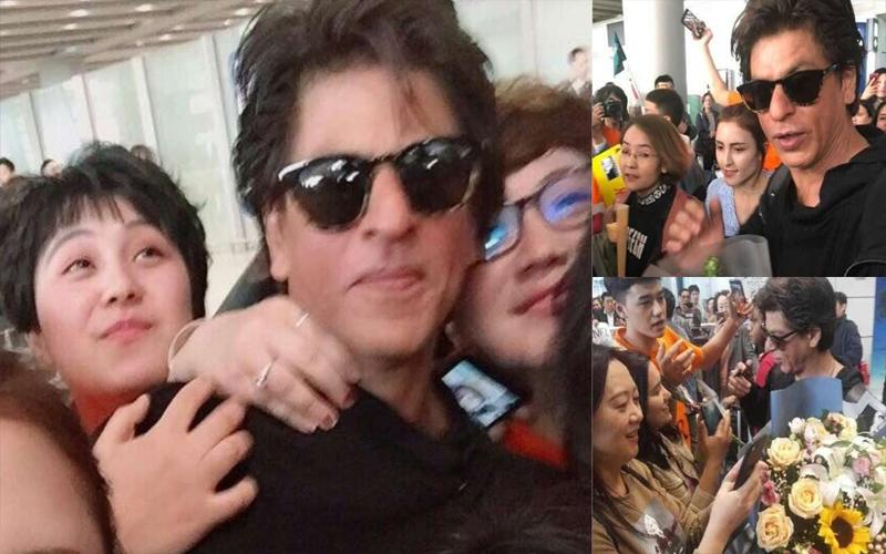 चीन में शाहरुख खान का दीदार पाने के लिए पागल हुए फैन्स