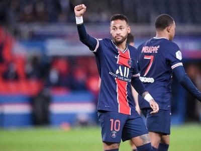 फ्रेंच लीग में नेमार कमाल, पीएसजी ने एंजर्स को 6-1 से हराया