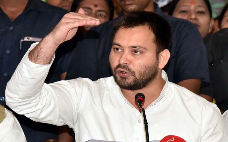 Bihar Election 2020: तेजस्वी यादव की सीएम नीतीश को चुनौती, कहा-दम है तो नालंदा से लड़ लें चुनाव