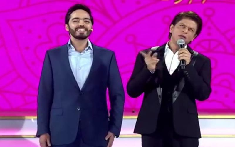 शाहरुख को बताई अंबानी के बेटे ने अपनी फर्स्ट सैलरी