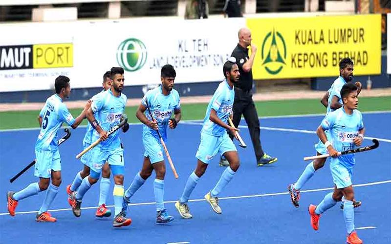 हॉकी: अजलान शाह कप में भारत ने एशियन गेम्स के चैंपियन को हराया