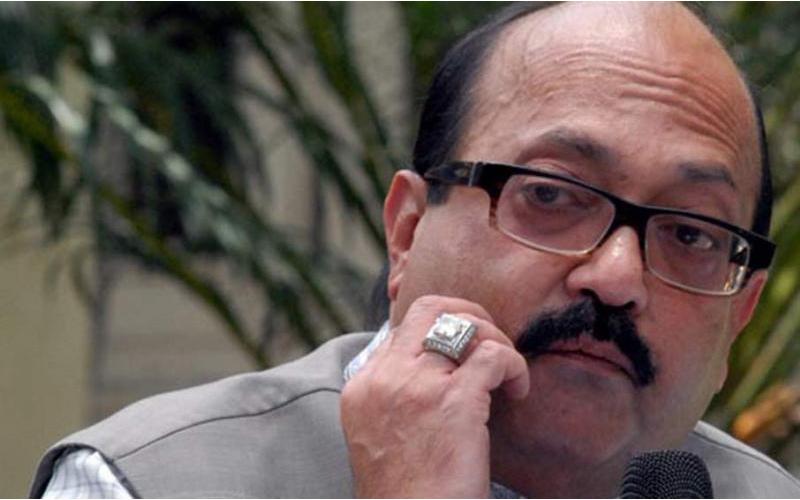 अमर सिंह की शिकायत पर आजम खान के खिलाफ प्राथमिकी