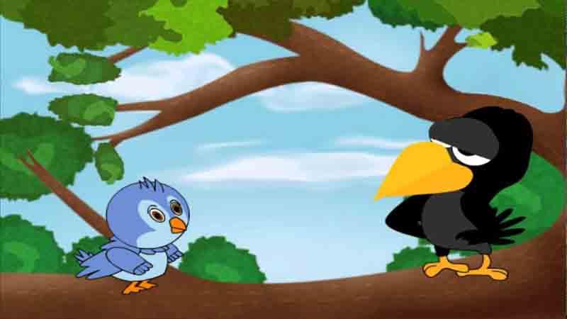 बाल कथा : चिडि़या झुंड के साथ 'ट' के आकार में क्यों उड़ती है