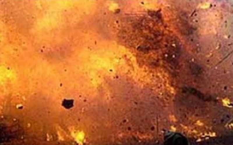 म्यांमार में आज तड़के हुए लगातार तीन विस्फोट