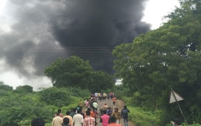 महाराष्ट्र : धुले की केमिकल फैक्ट्री में हुआ धमाका, आठ की मौत की आशंका