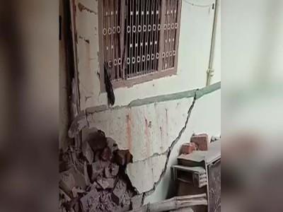बिहार : घर में हुआ बम विस्फोजट, 5 लोग घायल