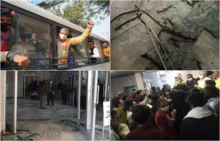 दिल्ली जल बोर्ड के ऑफिस में तोड़फोड़, राघव चड्ढा ने लगाया BJP कार्यकर्ताओं पर आरोप