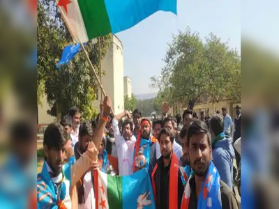 राजस्थान : कांग्रेस के छात्र नेता भी राम मंदिर के लिए जुटा रहे चंदा