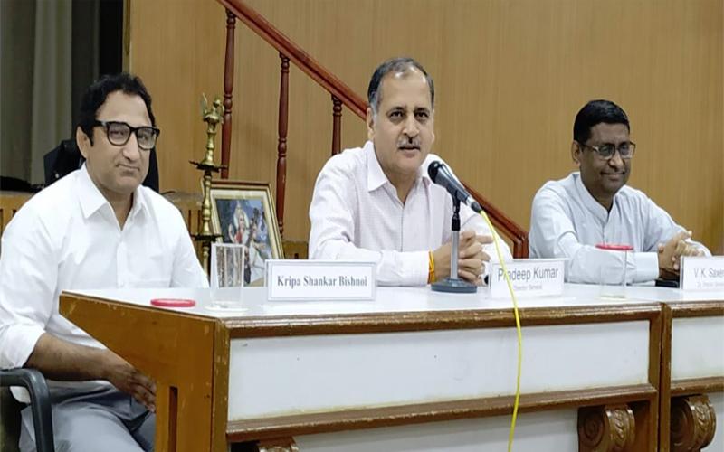 रेलवे अधिकारियों को खेलो के प्रति जागरूक करे,  खेलों का महत्व शिक्षा से कम नहीं : कृपाशंकर बिश्नोई