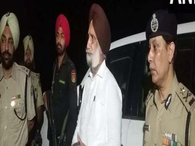 पंजाब के डिप्टी CM रंधावा ने देर रात भारत-पाकिस्तान सीमा का किया दौरा
