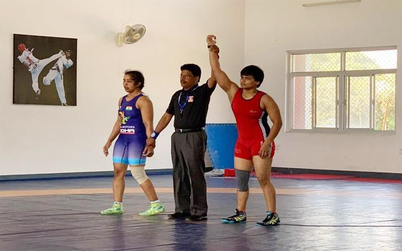 दिव्या ने सीनियर एशियन चैंपियनशिप में अपना स्थान किया पक्का