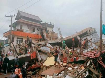 इंडोनेशिया में तेज भूकंप, अब तक 7 लोगों की मौत, कई घायल
