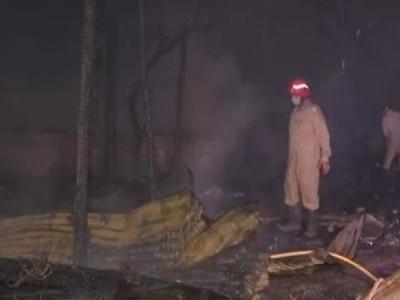 मुंबई: एक्सुचेंज बिल्डिंग में लगी आग, इसी इमारत में NCB का भी ऑफिस