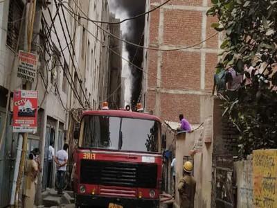 दिल्ली: झिलमिल इंडस्ट्रियल एरिया में स्थित रबड़ फैक्टरी में आग लगने से 5 लोगों की मौत