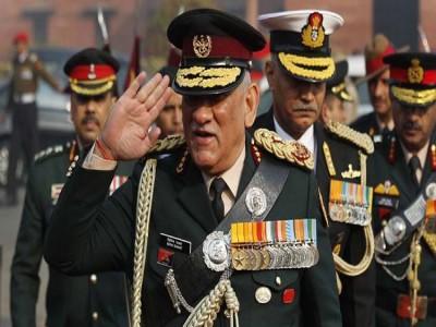 पाक ने आतंक पर रोक नहीं लगाई तो करेंगे अमेरिका जैसी कार्रवाई- CDS Gen Bipin Rawat