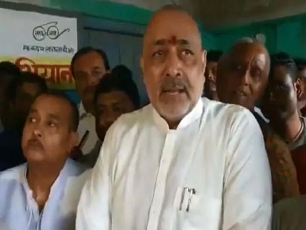 केंद्रीय मंत्री गिरिराज सिंह बोले- राम मंदिर का मेरा काम पूरा