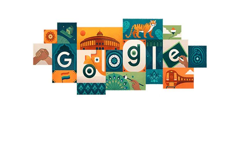 73वां स्वतंत्रता दिवस : गूगल के डूडल पर नजर आई भारतीय संस्कृति
