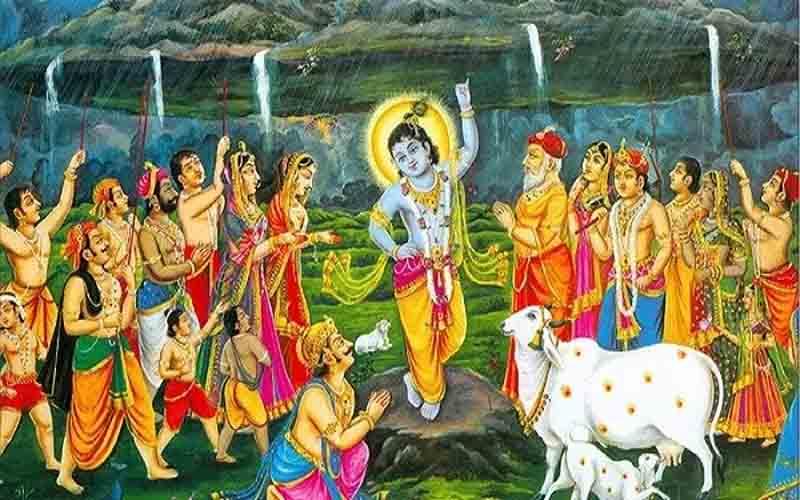 govardhan puja 2018: आज है गोवर्धन पूजा, पढ़ें शुभ मुहूर्त