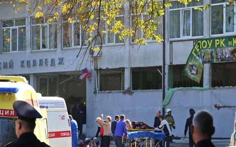 क्रीमिया में कॉलेज पर हुए हमले में 19 की मौत