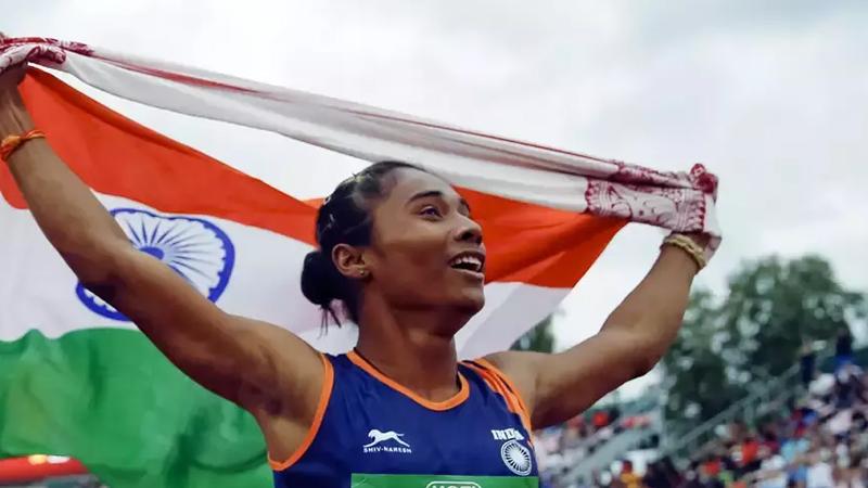 भारत का गर्व हिमा दास: 19 साल की उम्र में स्वर्ण से चमकाया देश का नाम