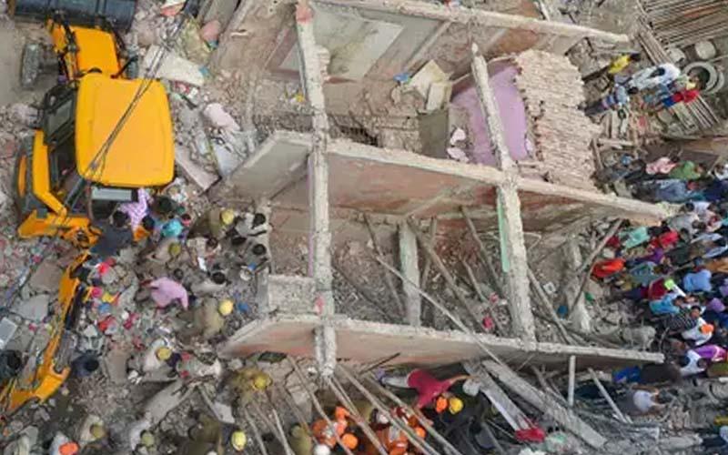 उत्तरी मेक्सिको में निर्माणाधीन मॉल के गिरने से पांच लोगों की मौत, 12 लापता