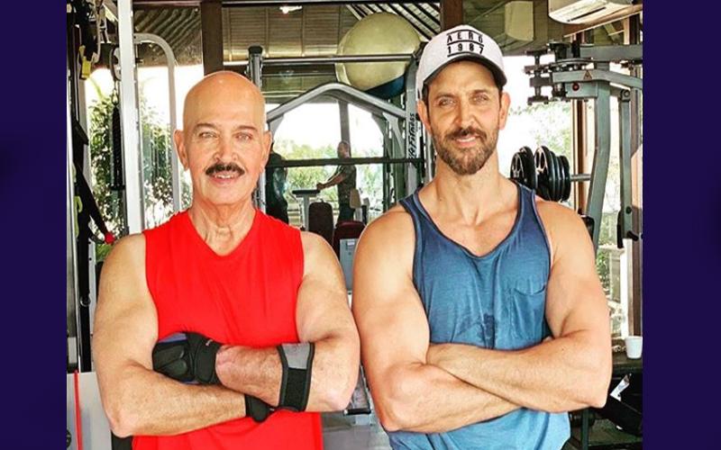 राकेश रोशन को हुआ गले का कैंसर, रितिक ने इमोशनल मैसेज के साथ शेयर की Photo