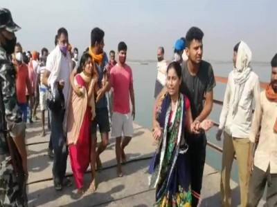 पटना में बड़ा हादसा: पीपापुल से गंगा नदी में गिरी जीप, 8 शव बरामद