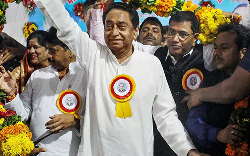 MP कांग्रेस में चल रही कलह के बीच कमलनाथ ने की सोनिया गांधी से मुलाकात