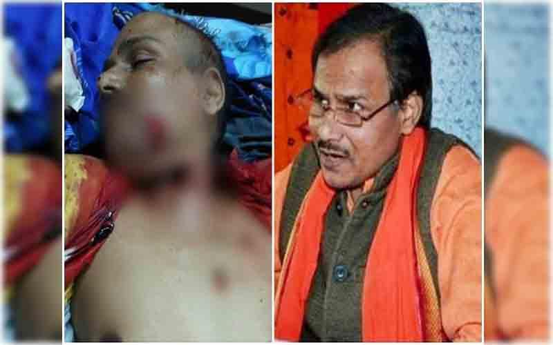 लखनऊ : हिंदू समाज पार्टी के नेता कमलेश तिवारी की गला रेतकर हत्या