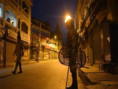 36 घंटों के लिए भारत के इस शहर में कर्फ्यू का ऐलान
