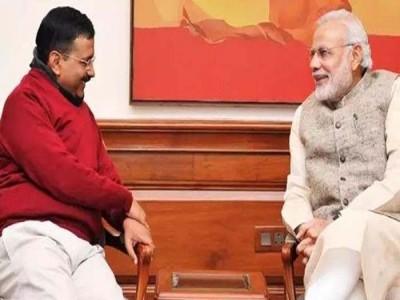 शपथ ग्रहण समारोह में केजरीवाल ने किया PM नरेंद्र मोदी मिस, बोले- काश, आप आ पाते...